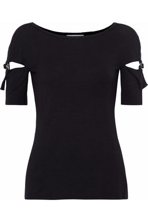 BAILEY 44 Zaatar cutout stretch-jersey top