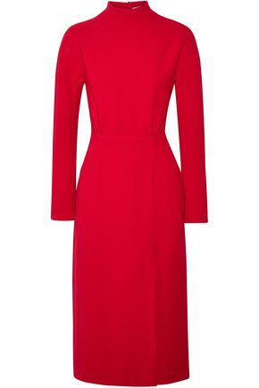 EMILIA WICKSTEAD Milan open-back wool-crepe dress