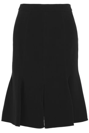 karina-fluted-stretch-crepe-skirt by stella-mccartney