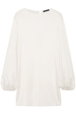 THE ROW Latou tie-back silk-chiffon blouse
