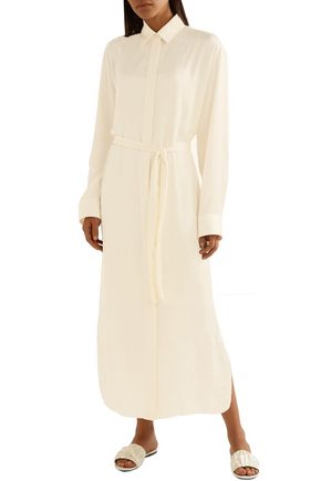 THE ROW Camisea charmeuse midi dress