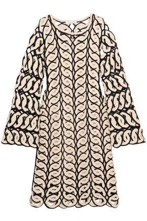 クロエ かぎ針編み コットン ワンピース