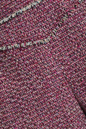 CHLOÉ Wool-blend tweed shorts