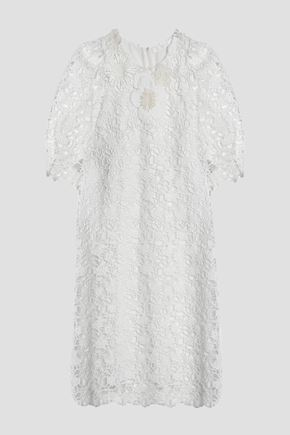 CHLOÉ Guipure lace cotton dress