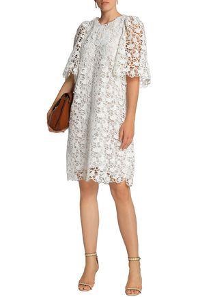 CHLOÉ Guipure lace cotton dress