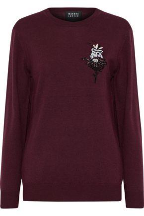 MARKUS LUPFER Natalie embellished wool sweater