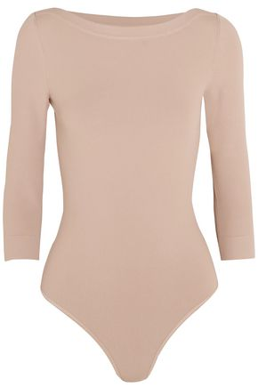 ALAÏA Stretch-crepe bodysuit