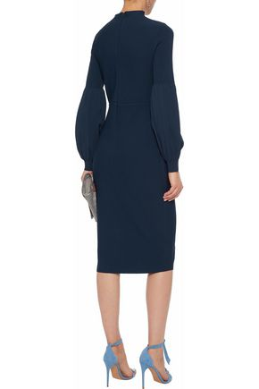 LELA ROSE Stretch-knit dress