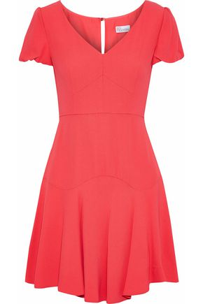 REDValentino Flared crepe mini dress