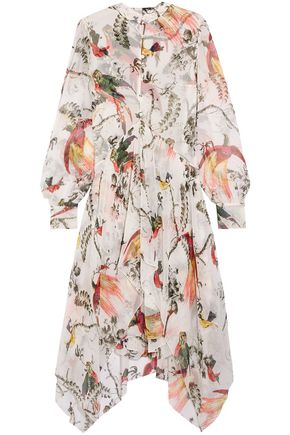 ERDEM Twist-front crepe mini dress