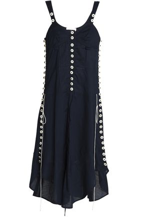 CHLOÉ Button-detailed cotton dress