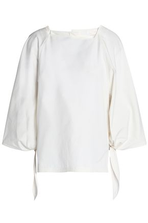 CHLOÉ Cotton-poplin top