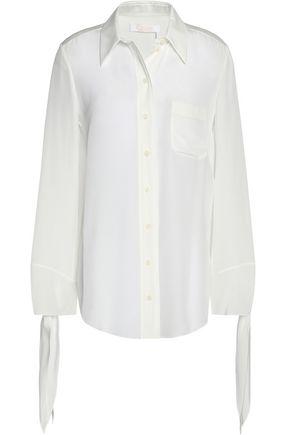 CHLOÉ Knotted silk shirt