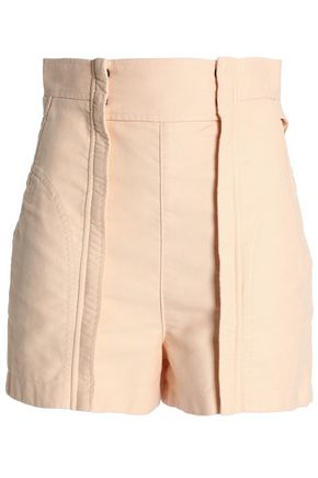 CHLOÉ Cotton-canvas shorts