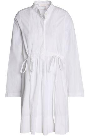 CHLOÉ Cotton-poplin mini dress