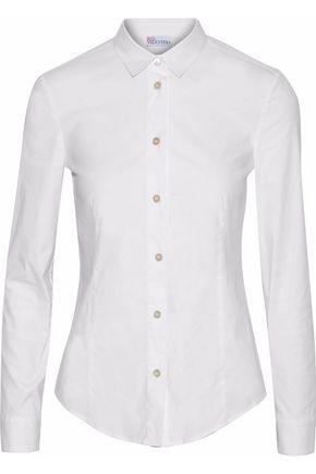 REDValentino Cotton-blend poplin shirt
