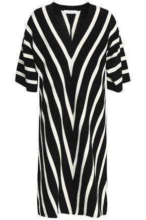 CHLOÉ Striped cotton mini dress