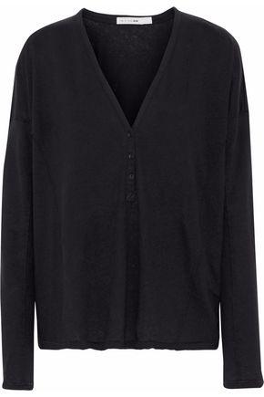 RAG & BONE Dahlia linen and cotton-blend top