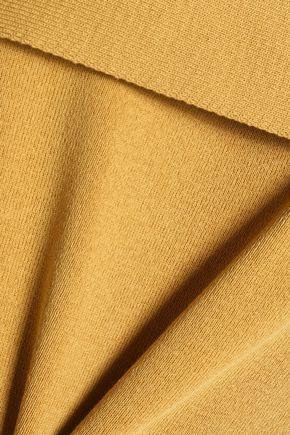 CHLOÉ Cape-effect cotton top