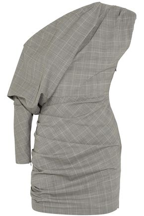 Carmen March WOMAN MINI DRESS GRAY