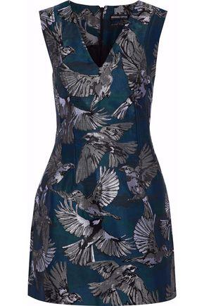 MARKUS LUPFER Melissa jacquard mini dress