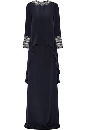 Woman Gowns Navy