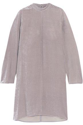 RICK OWENS Velvet mini dress
