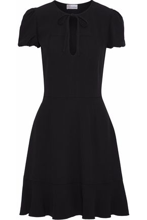 REDValentino Satin-crepe mini dress