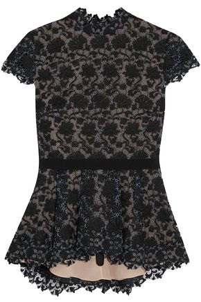 ERDEM Short Sleeved Top