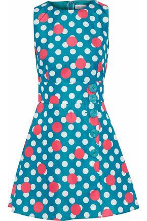 REDValentino Polka-dot shell mini dress