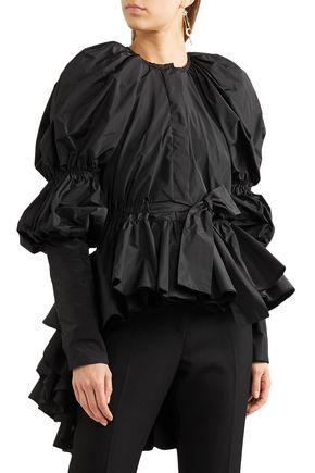 GIAMBATTISTA VALLI Ruffled taffeta jacket