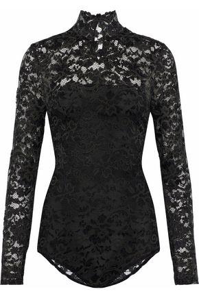 GANNI Flynn lace bodysuit