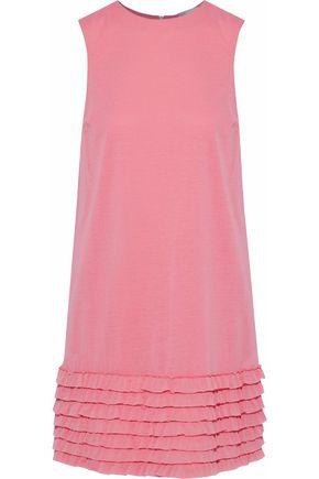 REDValentino Tiered cotton-blend jersey mini dress