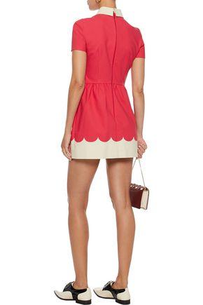 REDValentino Cotton-blend cady mini dress