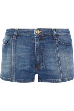 REDValentino Faded denim shorts