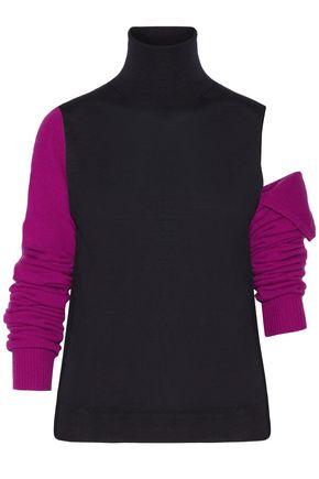 CALVIN KLEIN 205W39NYC Convertible wool turtleneck sweater