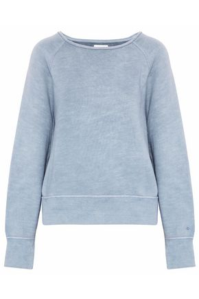 RAG & BONE Cotton-terry sweatshirt
