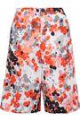 REDValentino Floral-print faille shorts
