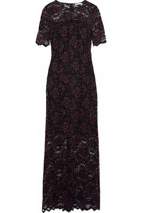 GANNI Flynn lace gown