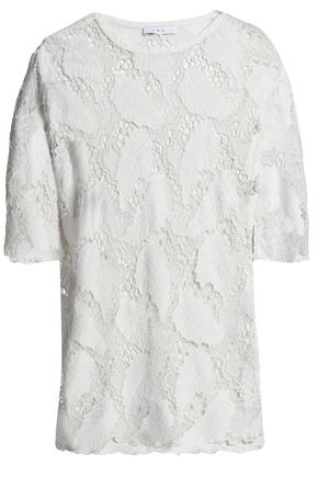 IRO Embroidered modal top