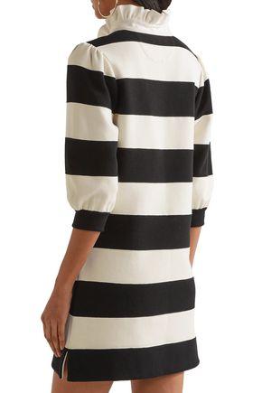 MARC JACOBS Striped jersey mini dress