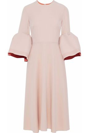 ROKSANDA Ruffled cady dress