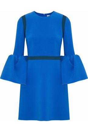ROKSANDA Hadari fluted cady mini dress
