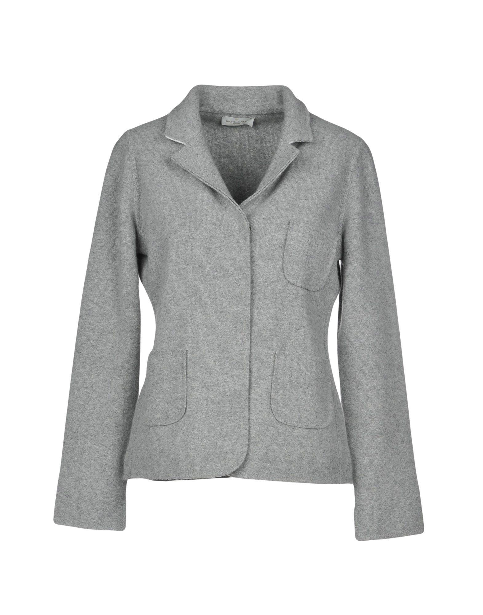 BRUNO MANETTI Blazer in Light Grey