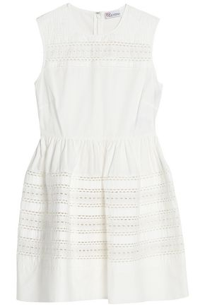 REDValentino Cotton-poplin mini dress