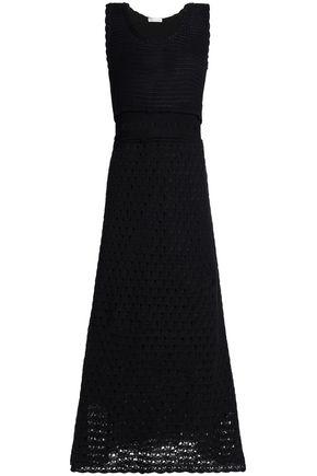 REDValentino Cotton crochete maxi dress