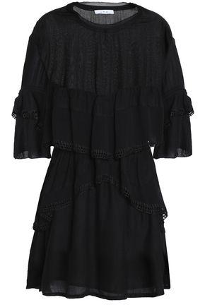 IRO Tiered georgette mini dress