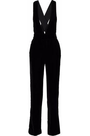 3x1 Ella velvet jumpsuit