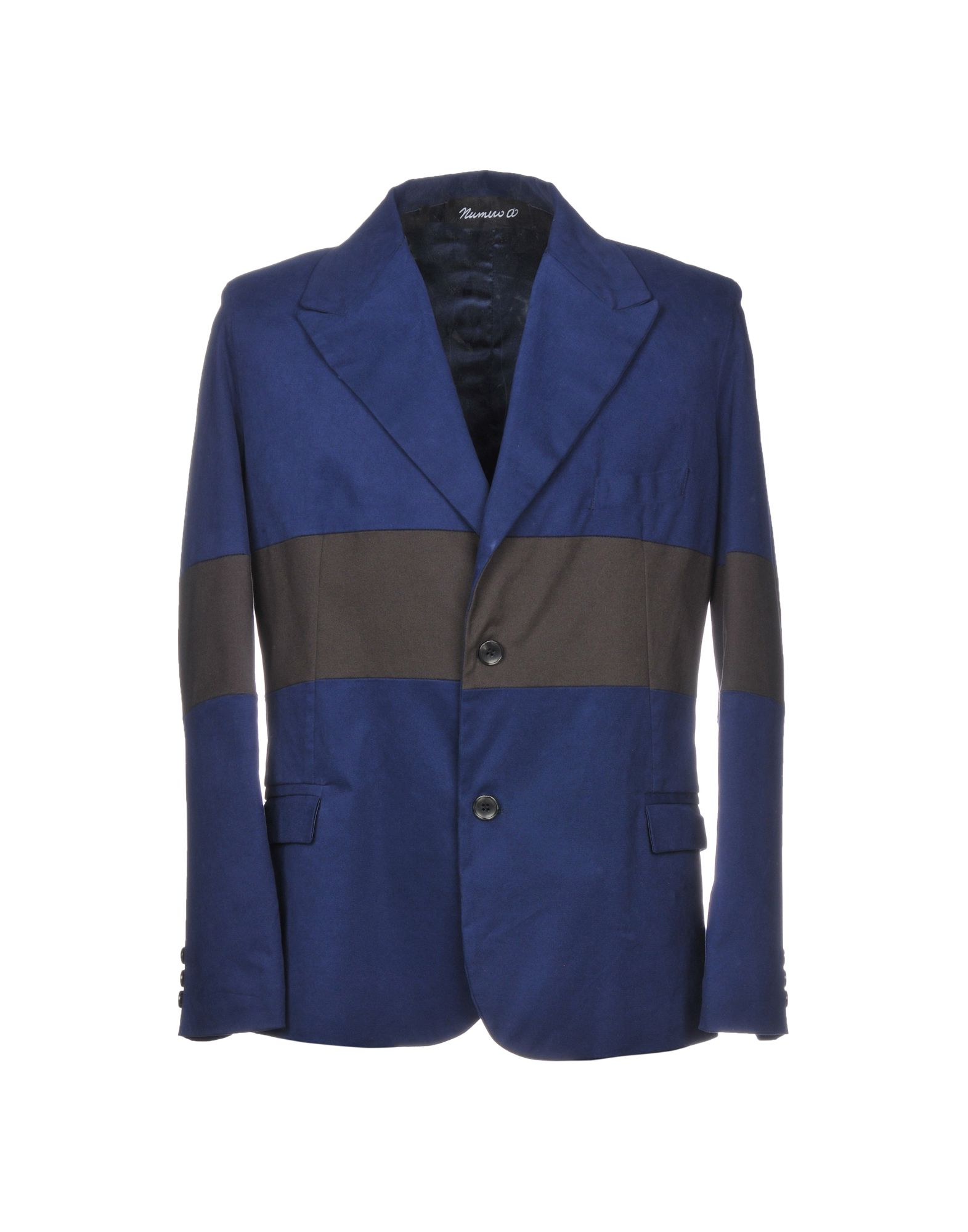 NUMERO00 Blazer in Dark Blue