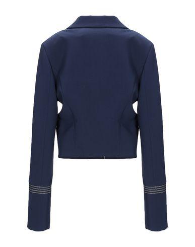 Фото 2 - Женский пиджак  синего цвета